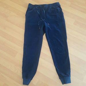 Kendall and Kylie navy soft jogger pants Medium